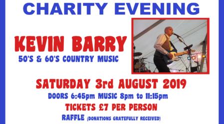 Kidney Association Charity Evening – 03/08/2019