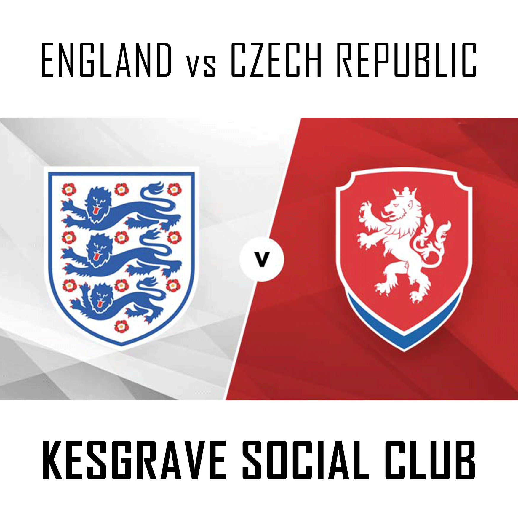 England vs. Czech Republic