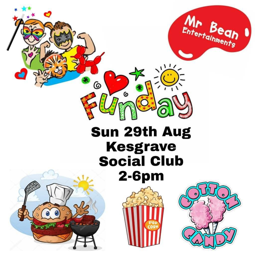 🎈KESGRAVE SOCIAL CLUB FAMILY FUN DAY 🎈